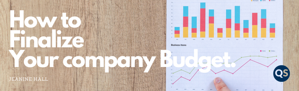 How to finalize your company Budget